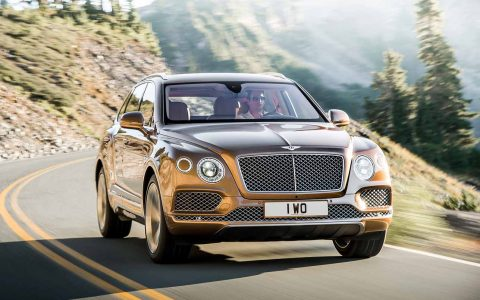 Auto, Bentley Bentayga