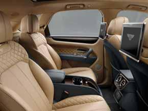 Innenraum Bentley Bentayga