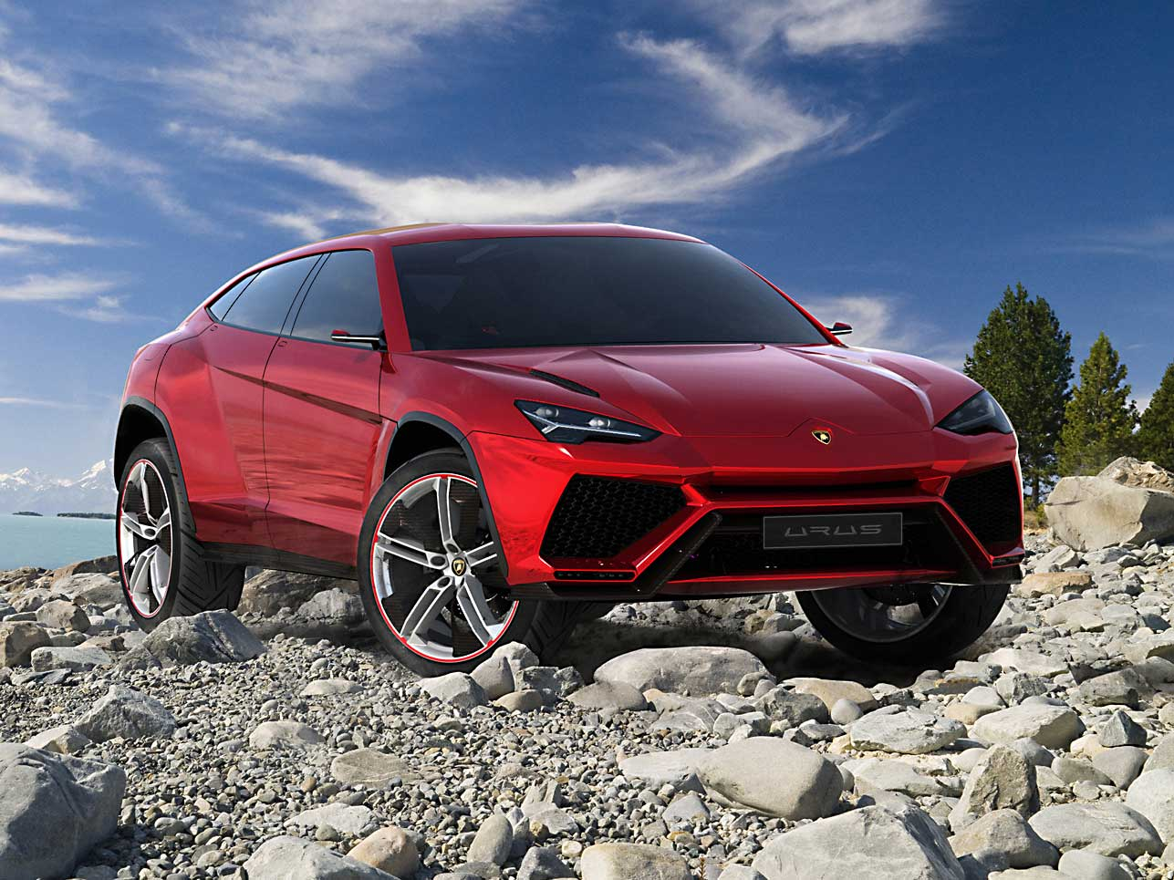 Der neue Lamborghini Urus