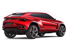 Heckansicht des Lamborghini Urus
