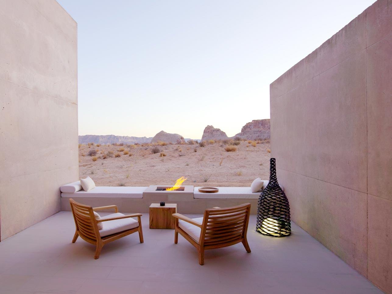 Hotel Amangiri Resort – Suite Desert Lounge