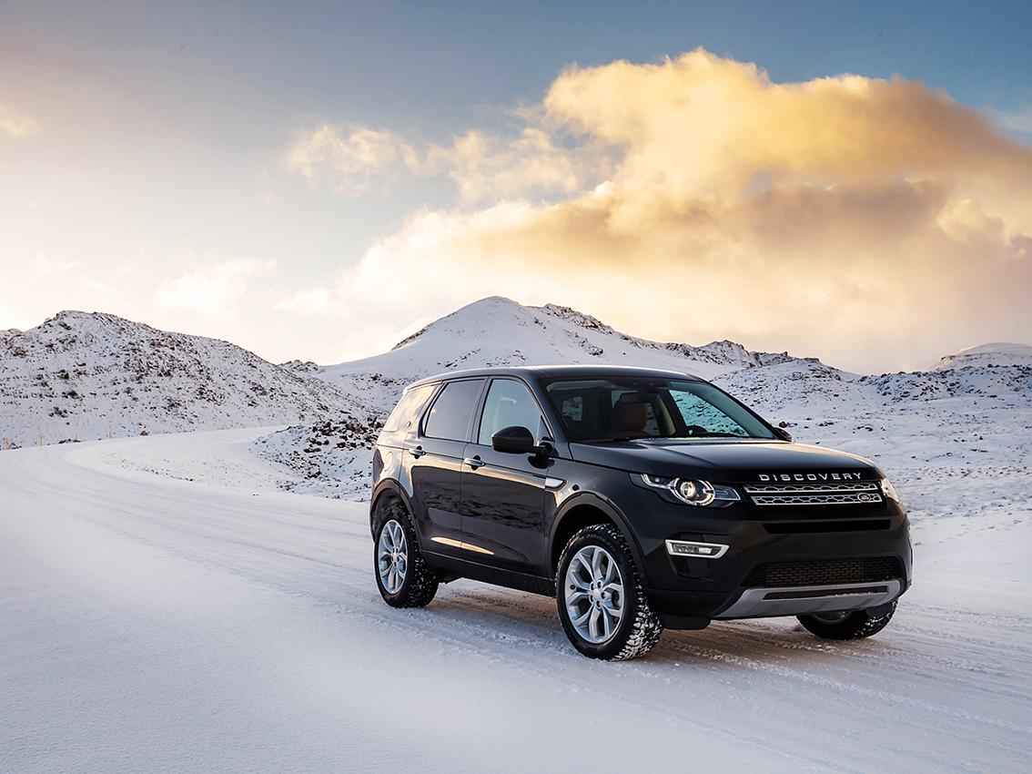 Schnee und Eis prägen häufig das Landschaftsbild.