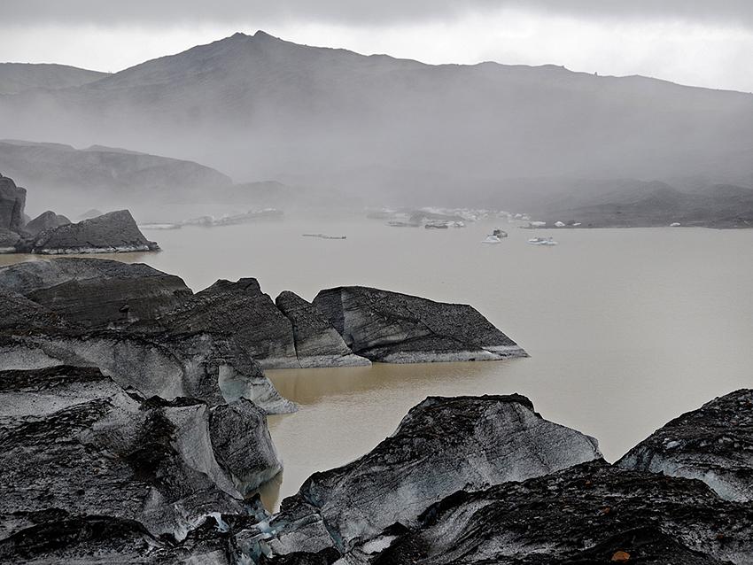 Schaurig: der Svinafellsjökull
