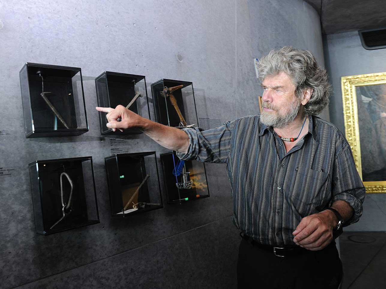 Im MMM Corones geht es um den traditionellen Alpinismus, der und den Reinhold Messner entscheidend geprägt hat.