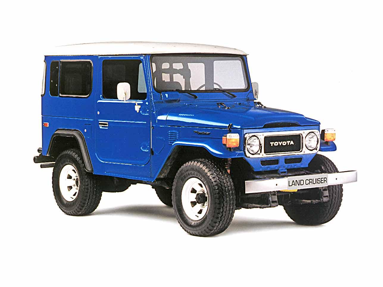 [h3]1951, Toyota Landcruiser[/h3] Der beliebte Land Cruiser existiert, weil Japan 1941 auf den Philippinen einen Bantam eroberte, den Verwandten des Jeep. Daraus sollte ein eigenständiger Offroader werden – und wurde es.