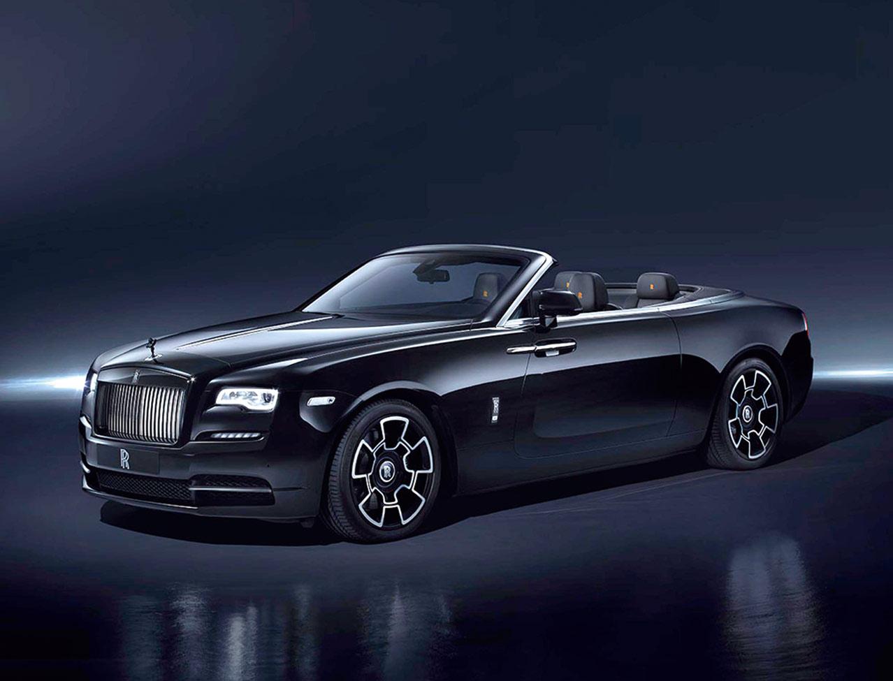 Rolls Royce Dawn Black Badge Exklusive Teilmenge Cabriolife
