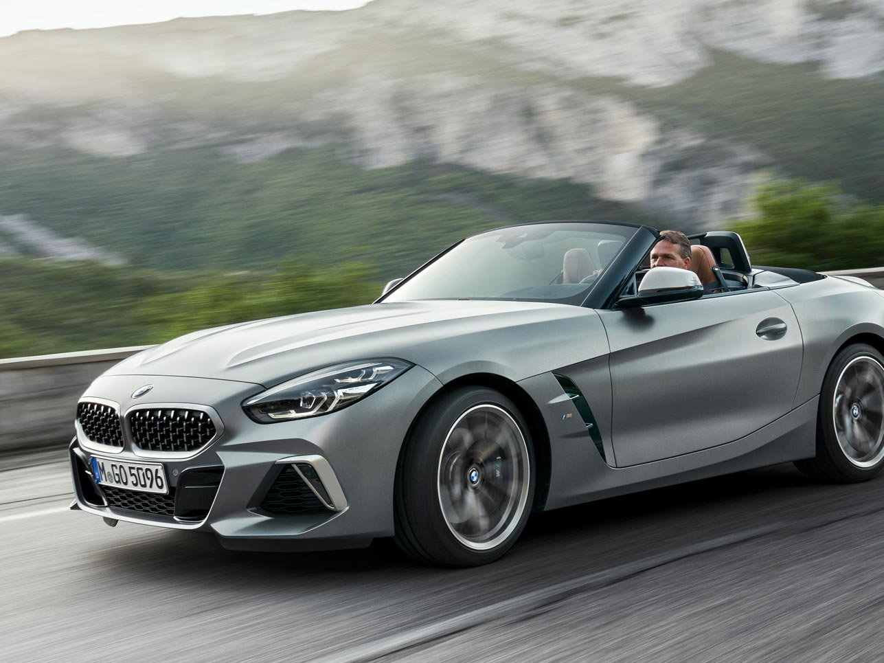 2020 BMW Z4 Roadster Speed Test